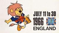 Untuk pertama kalinya, ada maskot yang menghiasi poster Piala Dunia tahun 1966 di Inggris. Foto: dok.mailonline