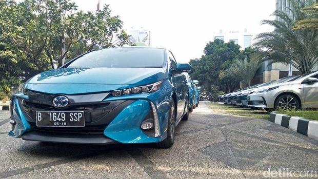 Mobil Prius plug-in hybrid