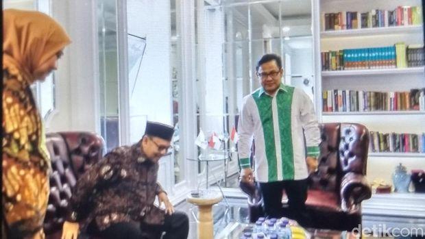 Cagub Jateng Sudirman Said bertemu Ketum PKB Cak Imin.