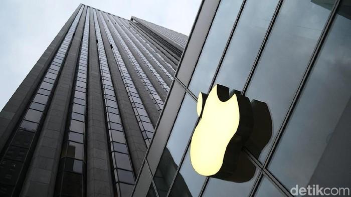 Logo Apple. Foto: Ari Saputra