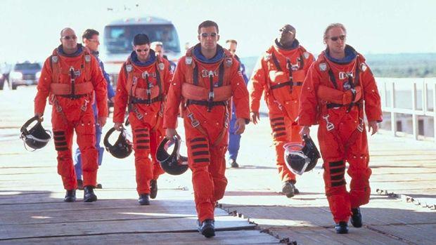 Cuplikan film 'Armageddon'.