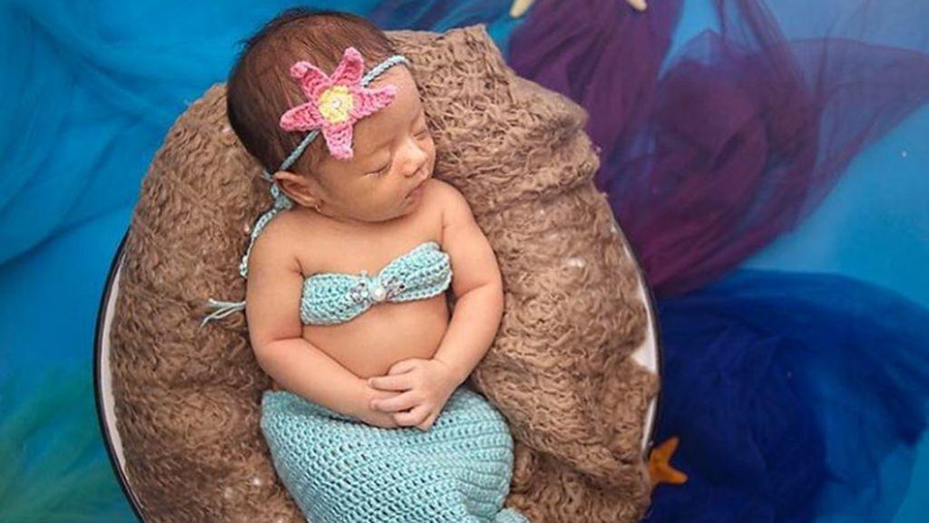 Cantiknya Baby Eijaz, Anak Sonny Septian dan Fairuz A Rafiq