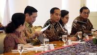 Pertemuan antara Presiden Jokowi dengan Presiden Bank Dunia Jim Yong Kim berlangsung pukul 09.00 WIB.
