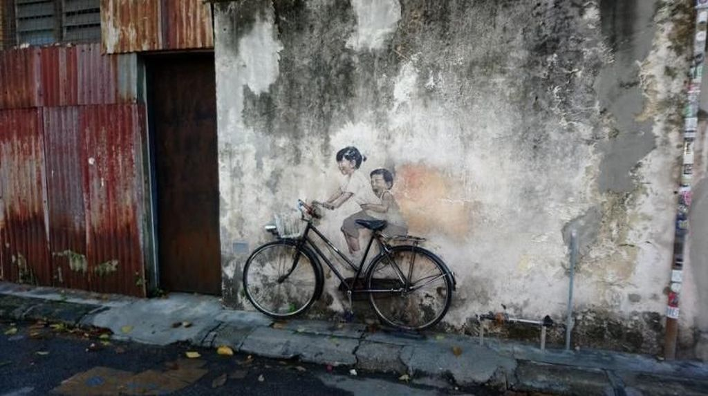 Berburu Graffiti Instagramable di Penang
