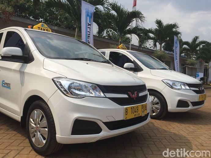 Total ada 150 unit mobil Wuling yang menjadi taksi Express. Foto: Khairul Imam Ghozali