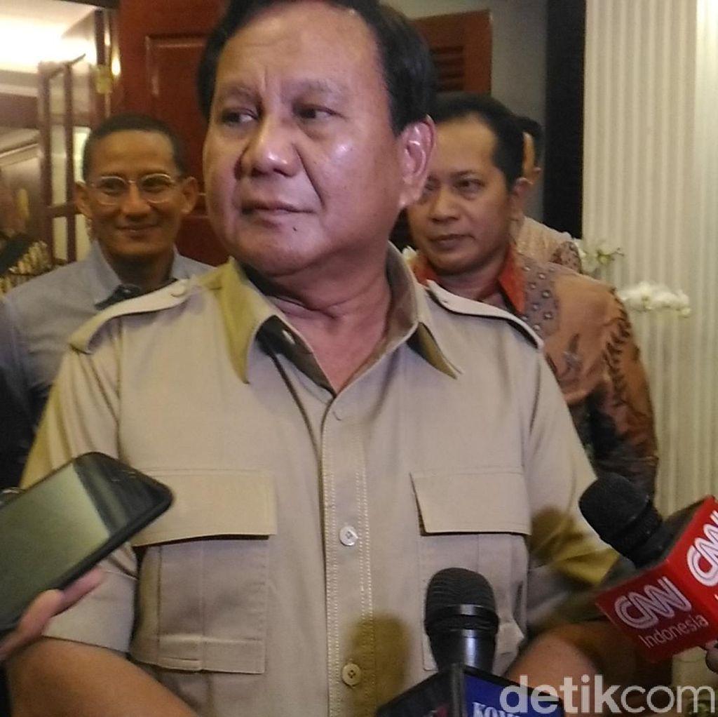Gerindra Jawab Fahri Hamzah: Prabowo Sudah Gerak Lincah