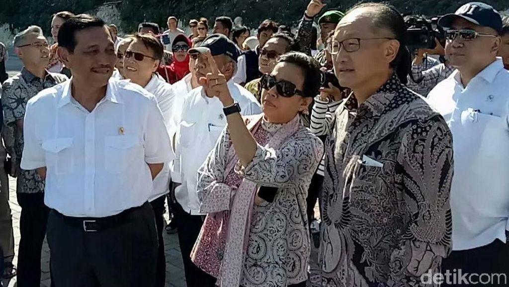 Pujian Bos Bank Dunia untuk Sri Mulyani saat Keliling Bali