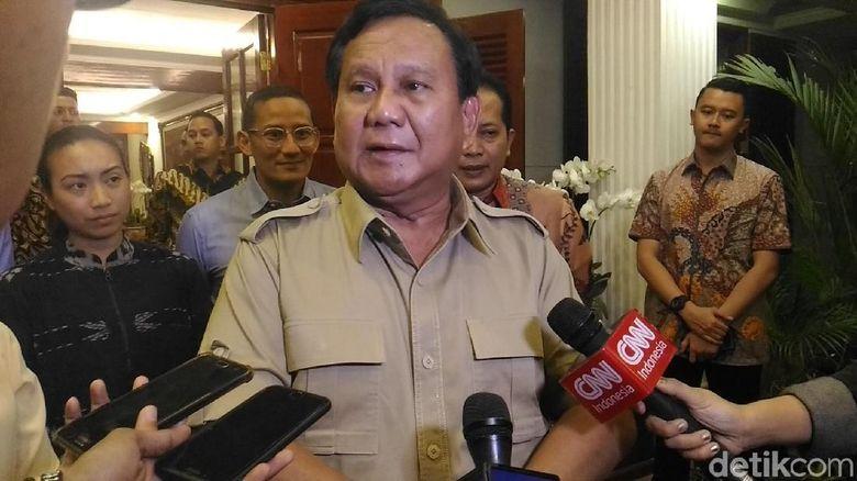 Bicara Rupiah Melemah, Prabowo: Indonesia Sedang Tekor
