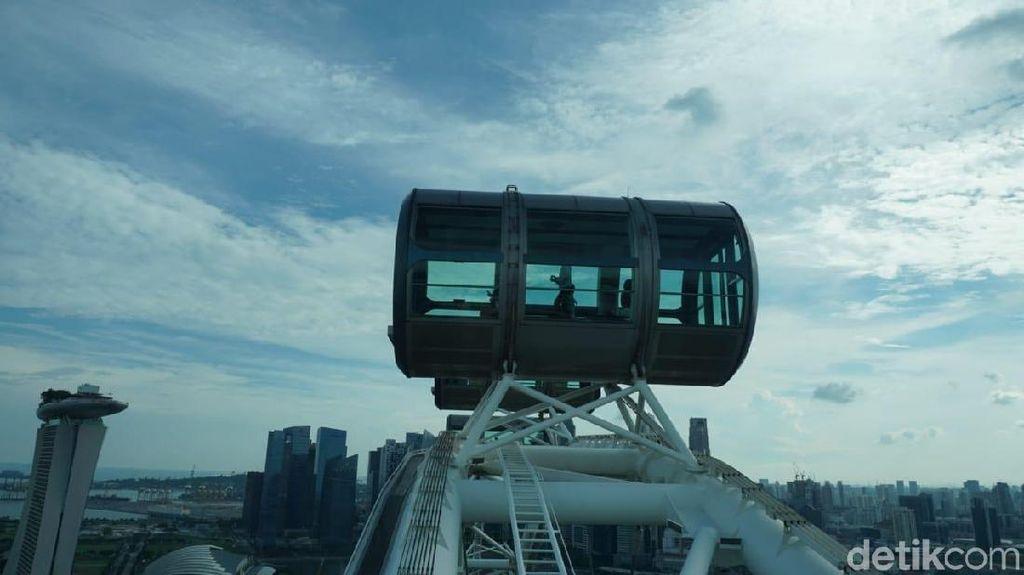 Naik Bianglala Raksasa Singapura, Keren Banget!
