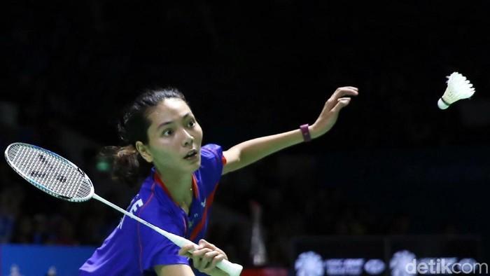 Wakil ganda campuran Indonesia Hafiz Faizal/Gloria Emanuelle Widjaja raih kemenangan usai tundukkan ganda campuran Denmark di Blibli Indonesia Open 2018.