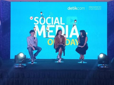 Sontek Cara Main Medsos ala Artis Milenial di Social Media One Day