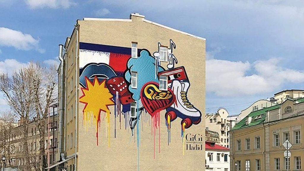 Piala Dunia 2018 Bikin Moskow Bersih dari Grafiti