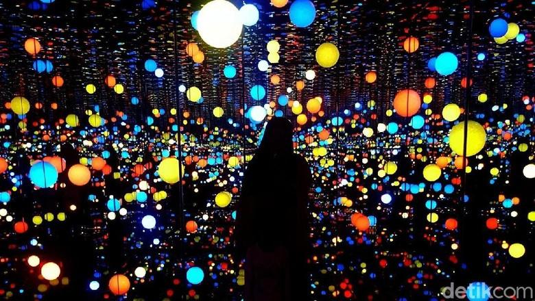 Infinity Room yang viral di Museum MACAN (Fitraya Ramadhanny/detikTravel)