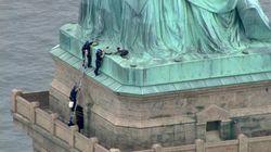 Wanita AS yang Panjat Patung Liberty Divonis 18 Bulan Penjara