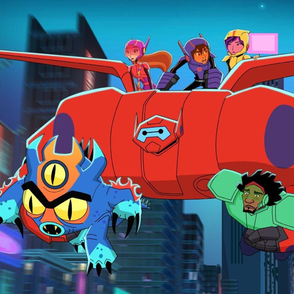 Kota Gabungan San Francisco dan Jepang Jadi Latar Big Hero 6 The Series