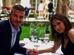 Happy Anniversary David Beckham dan Victoria