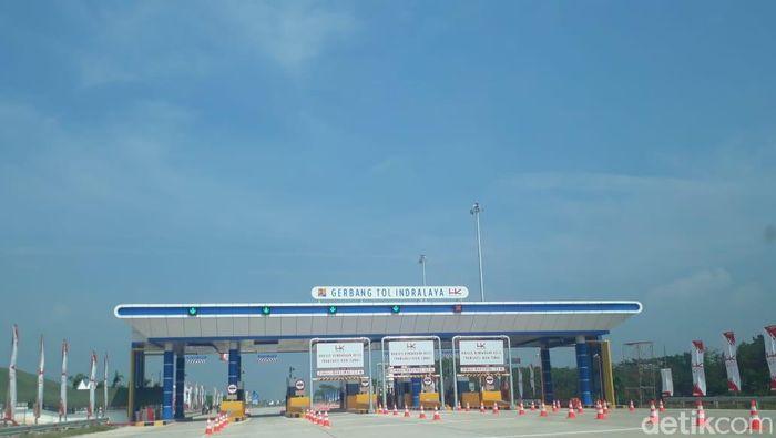 Tol Palembang-Indralaya/Foto: Raja Adil Siregar/detikcom