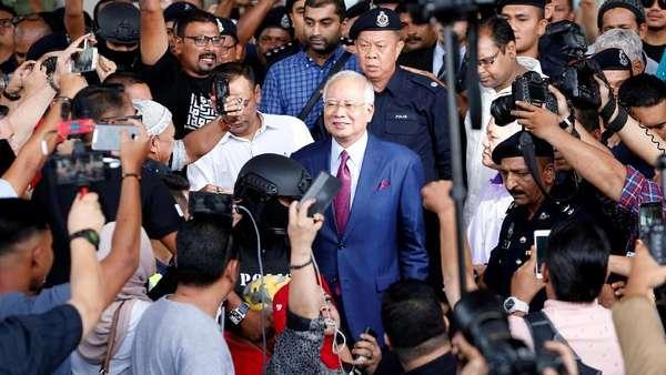 Dipanggil Komisi Antikorupsi Malaysia, Najib Akan Ditahan Lagi