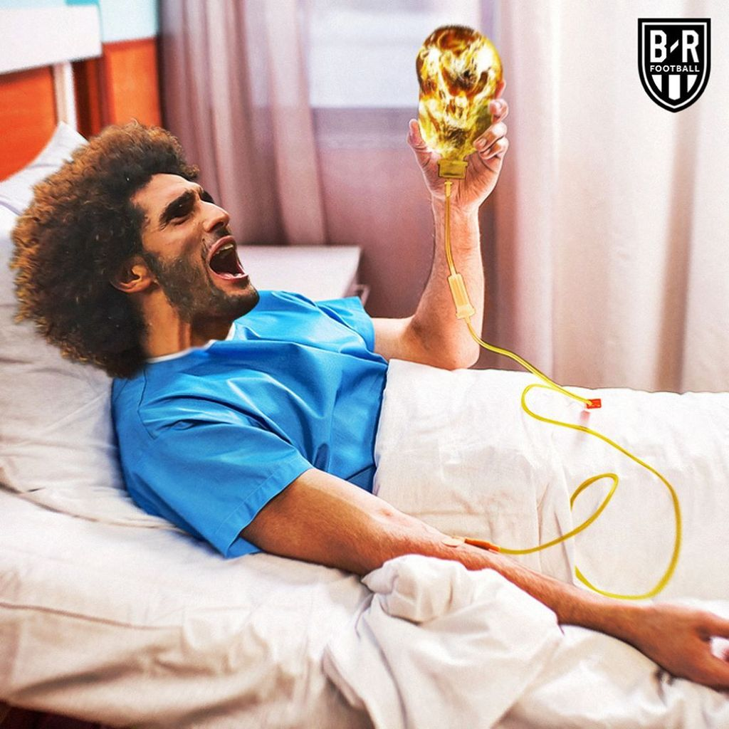 Kilas Balik 16 Besar Piala Dunia 2018 Lewat Meme Kocak
