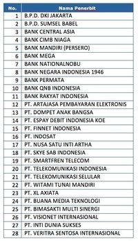 Jumlah Uang Elektronik Capai 118 Juta, Transaksinya Rp 3,5 T