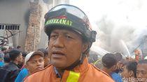 Api Gudang Kimia di Kampung Bandan Sulit Padam, Ini Penyebabnya