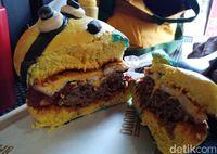 Doodle Burger: Gemas Banget! Ini Burger Finding Dory dan Single Mingle yang Lucu