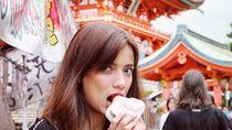 Ke Jepang, Ini Jajanan Enak yang Dicicip Sabrina Chairunnisa, Finalis Puteri Indonesia
