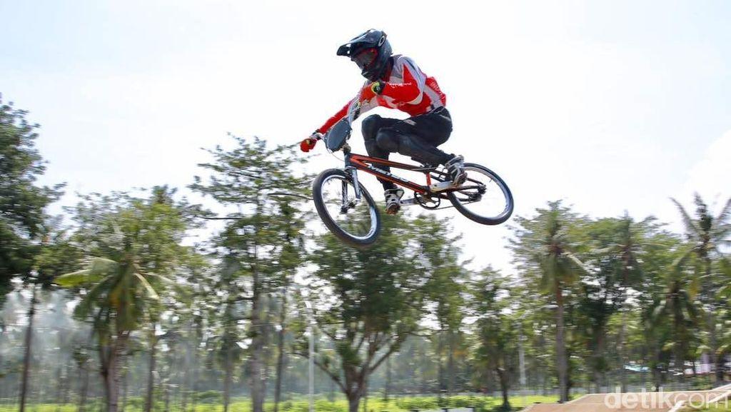 Timnas Indonesia Hingga Juara Dunia Ikut Laga BMX di Banyuwangi