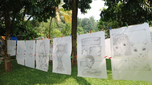 Belajar Seni Rupa Bersama Maestro Perupa Hanafi