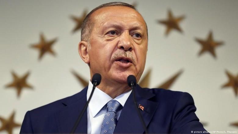 Pemerintah Turki Limpahkan Kekuasaan Eksekutif ke Presiden Erdogan