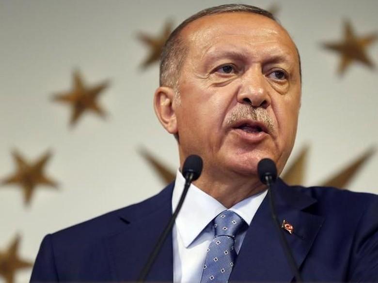 Geramnya Erdogan Gegara AS Nimbrung Hasil Pilkada Istanbul-Ankara