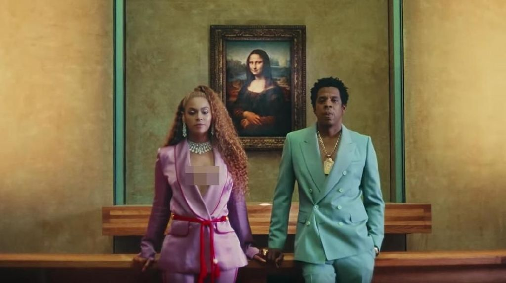 Museum Louvre Bikin Tur Spesial Beyonce & Jay Z