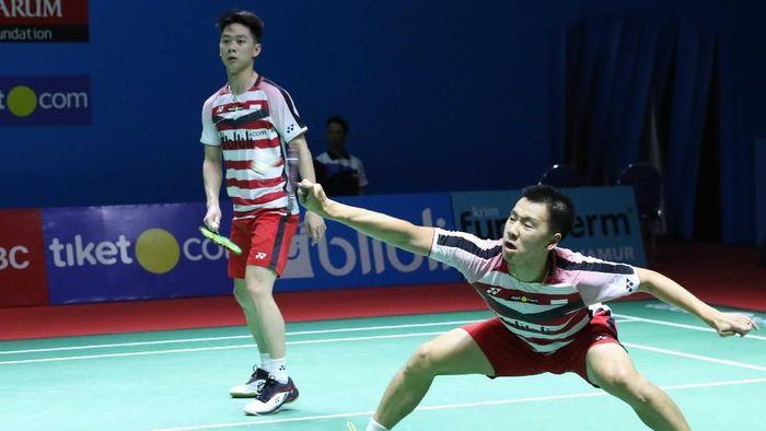 Kevin/Marcus akan fokus ke Kejuaraan Dunia setelah jadi juara Indonesia Open 2018 (Humas PBSI)