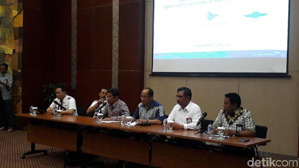 Pilot dan Karyawan Garuda Indonesia Batalkan Rencana Mogok