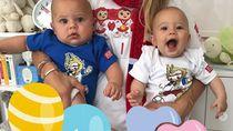 Lucy dan Nicholas, Anak Kembar Enrique Iglesias yang Bikin Gemas
