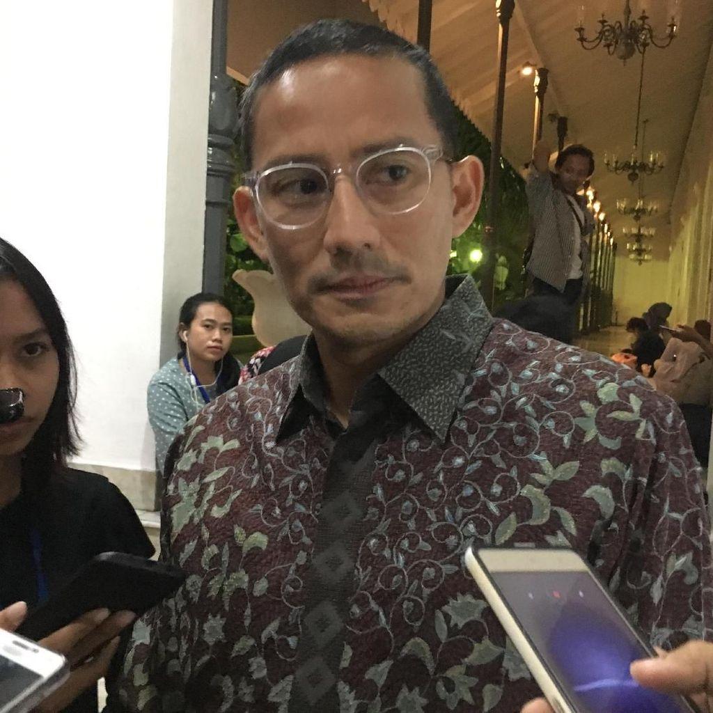 Sandiaga: Jangan Bawa Zohri ke Ranah Politik