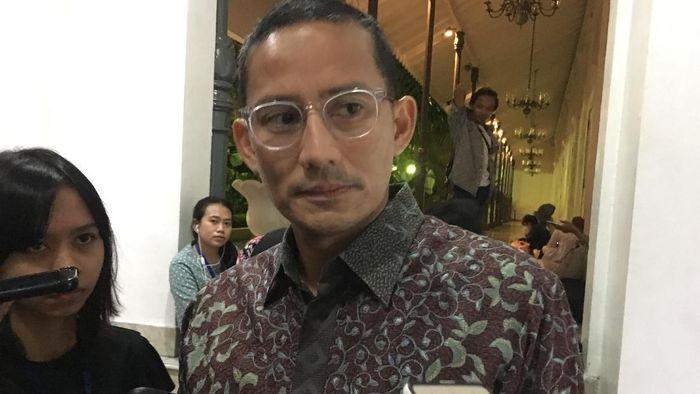 Wagub DKI Jakarta Sandiaga Uno/Foto: Indra Komara/detikcom