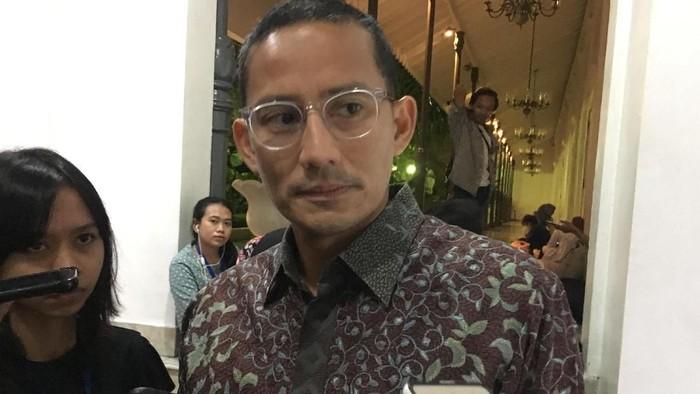Foto: Wakil Gubernur DKI Jakarta Sandiaga Uno (Indra Komara/detikcom)