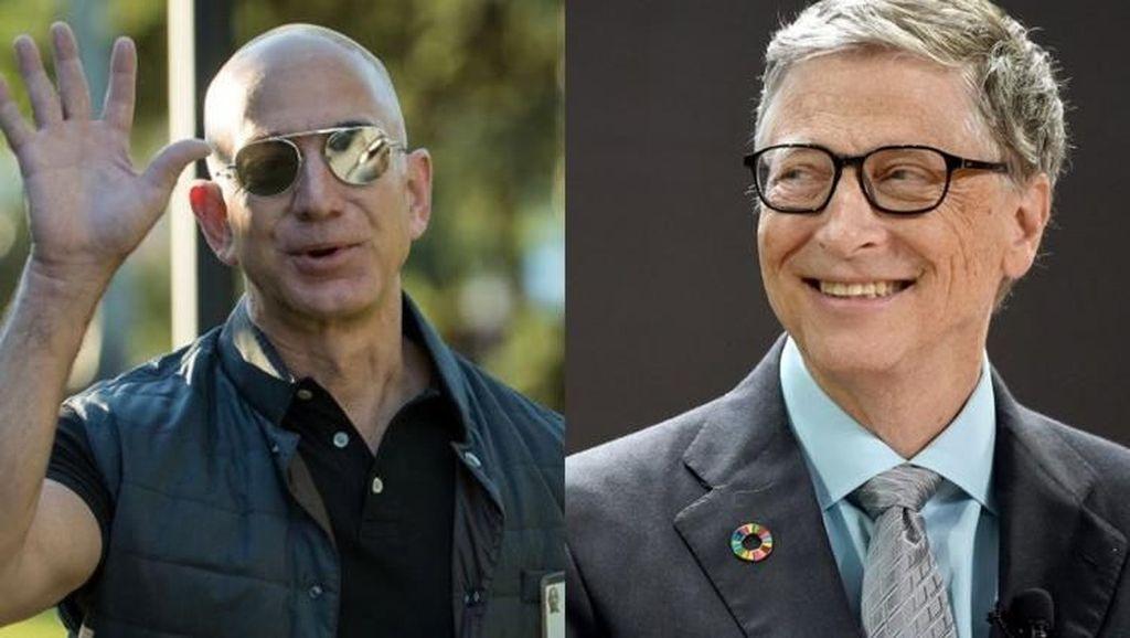 Rp 810 Triliun! Jarak Kekayaan Bezos dengan Bill Gates