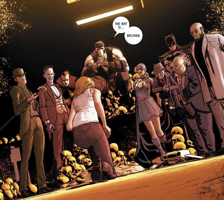 Flashpoint Batman Bergabung dengan DC Universe?