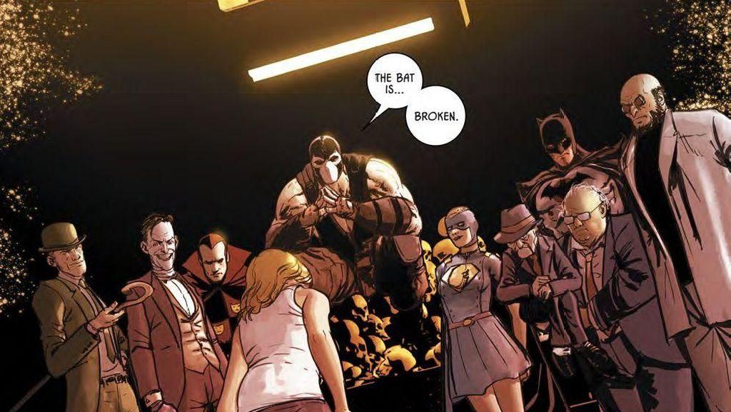 Penulis Batman Bagi-bagi Komik Gratis Selama Pemerintahan AS Tutup