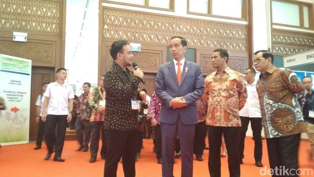 Jokowi Kunjungi Pameran Peternakan di Senayan
