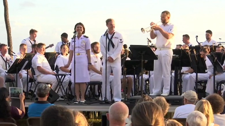 Saat Tentara RI, AS dan Australia Nyanyikan Akad di Hawaii