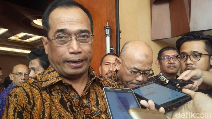Foto: Menhub Budi Karya Sumadi (Dwi Andayani/detikcom)