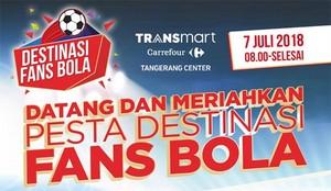 Pesta Bola Transmart Carrefour, Ada Promo di 6 Resto Ini