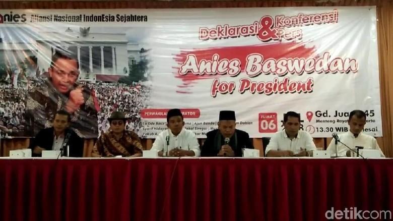 ANIES Deklarasikan Anies sebagai Capres 2019
