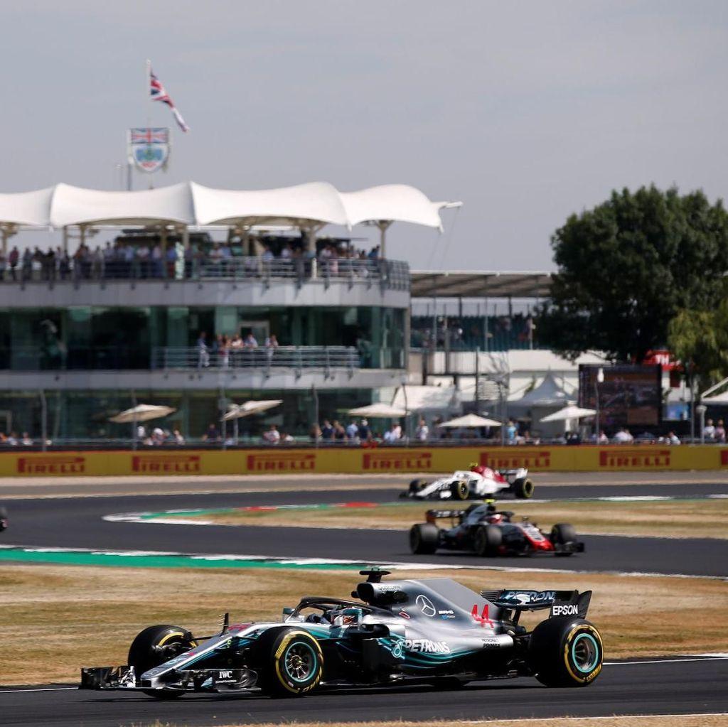 Hamilton Kuasai Latihan Bebas Pertama GP Inggris