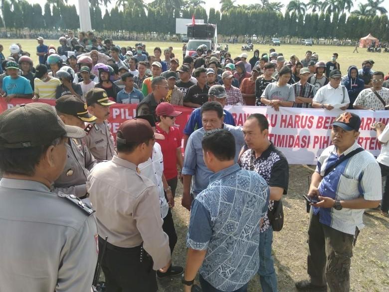 Ada Aksi Menolak Pansus Dugaan Pidana Pilgub Lampung