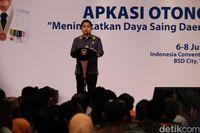 Ketua Umum APKASI Mardani H Maming