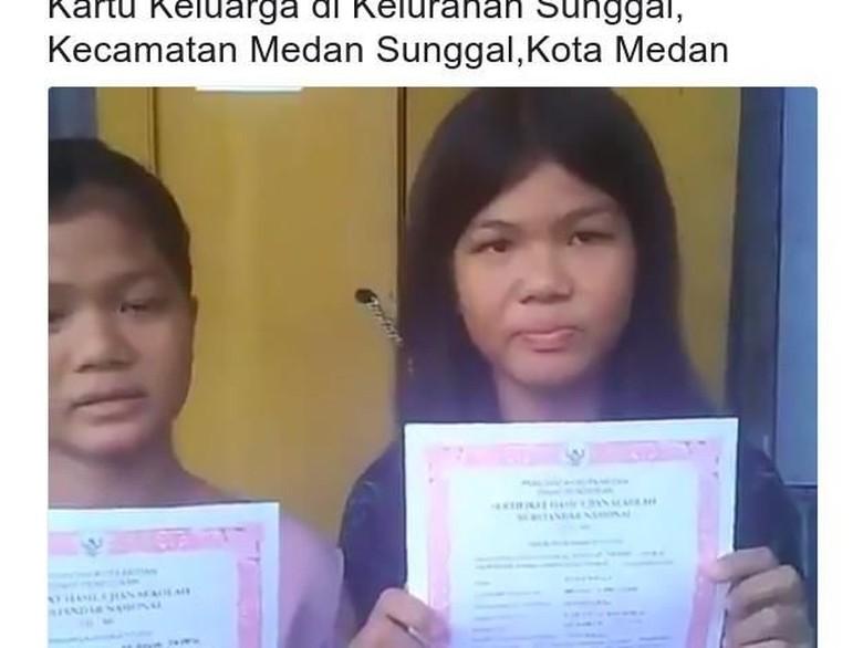 Viral 2 Anak Ditolak Daftar SMP di Medan karena Tak Ada KK